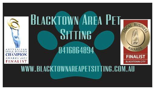 Blacktown Area Pet Sitting Logo