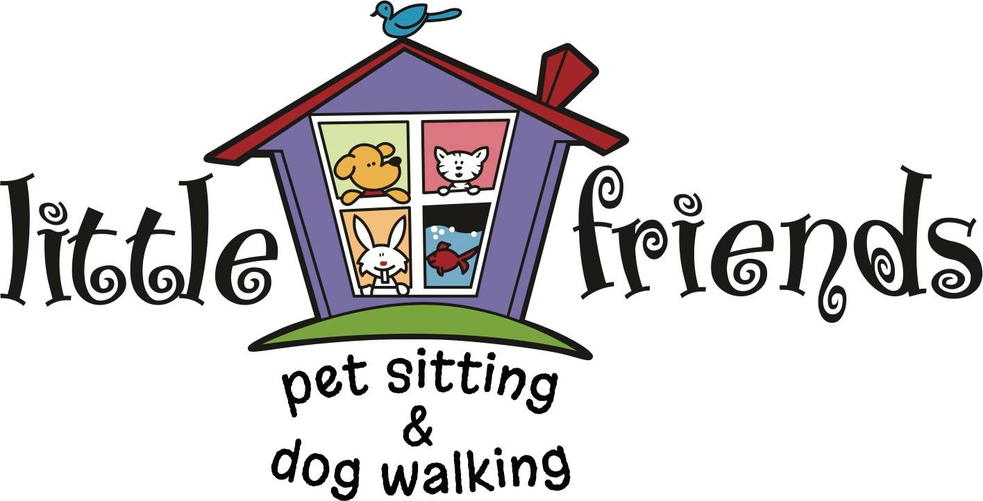 Little Friends Pet Sitting and Dog Walking Logo