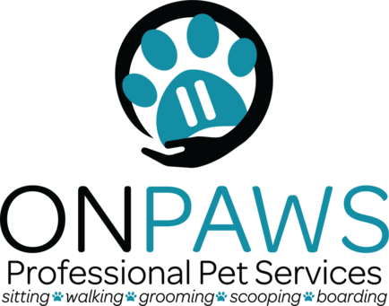 On Paws Pet Services Logo