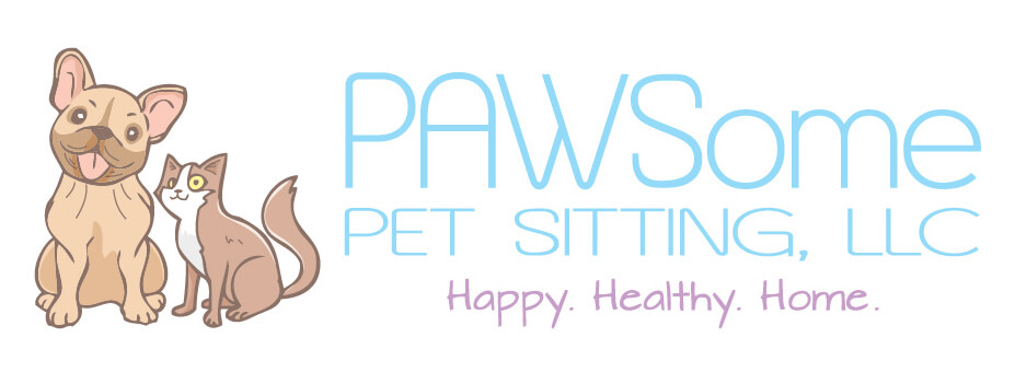 PAWSome Pet Sitting Logo