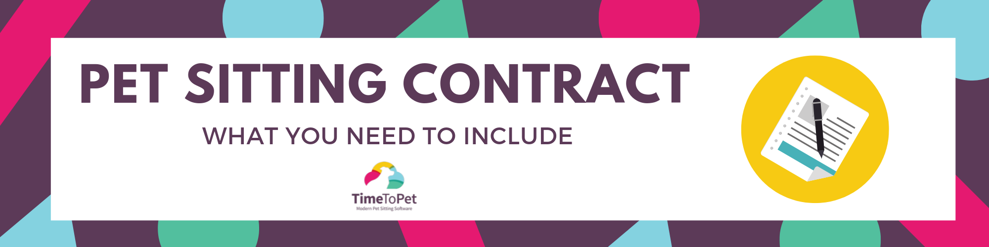 Pet Sitting Contract Graphic