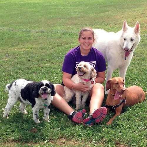 Julie Cardoza, Owner of Wagging Tail Dog Services