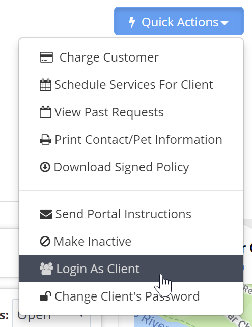 Friday Feature Focus Login As Client Time To Pet