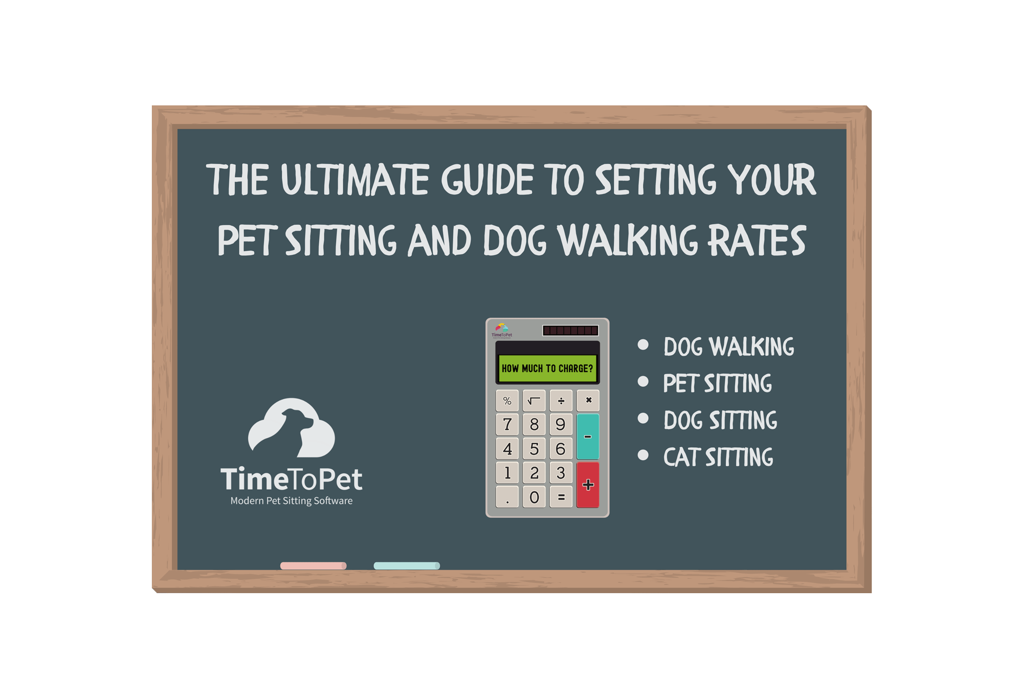 Pet Sitting Rates on Blackboard