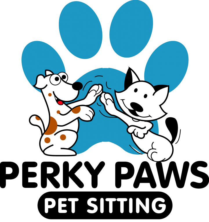 Perky Paws Pet Sitting Logo