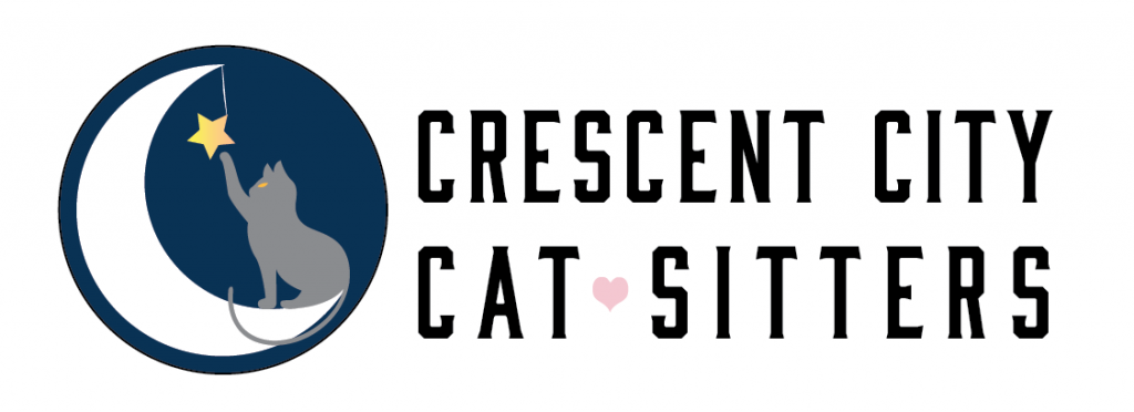 Crescent City Cat Sitters Logo