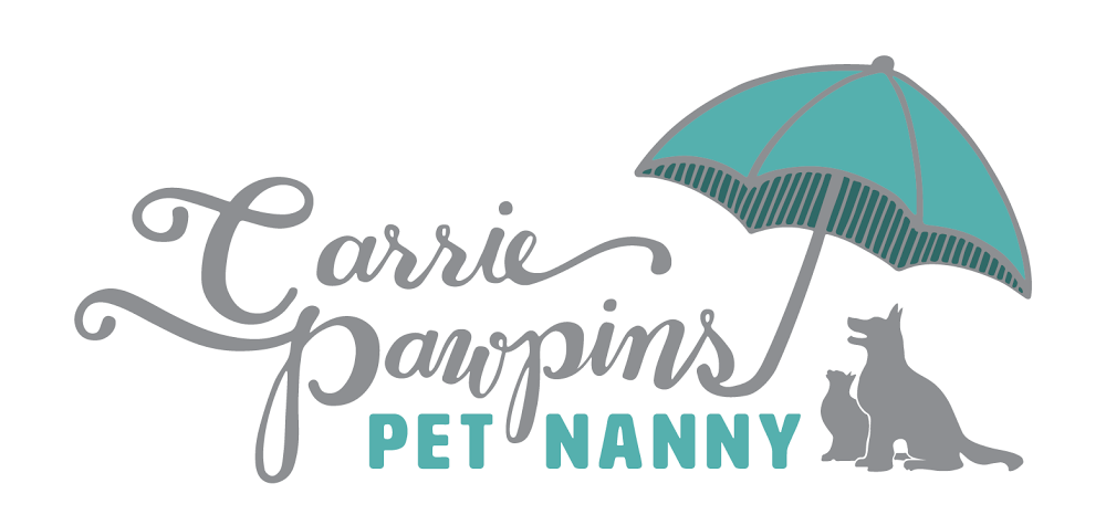 Carrie Pawpins, Pet Nanny Logo