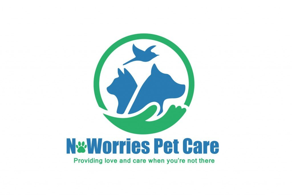 No Worries Pet Care Logo