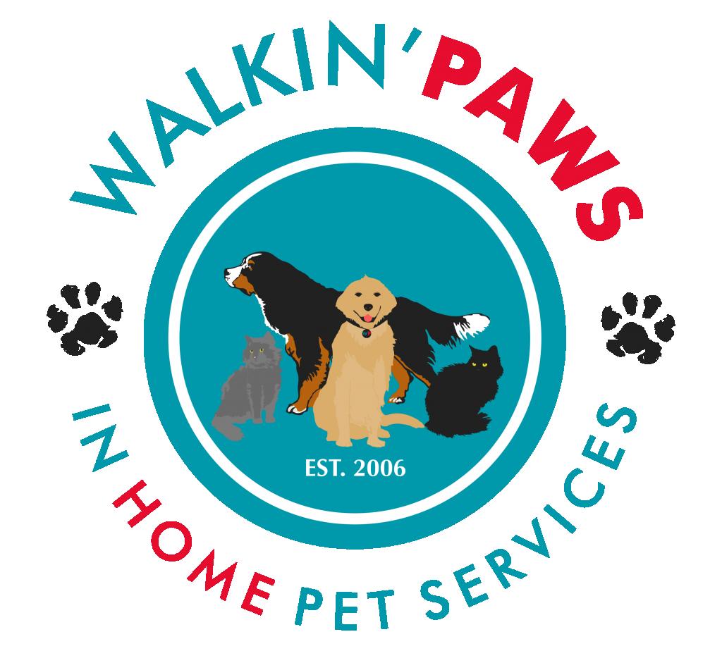 Walkin' Paws Logo