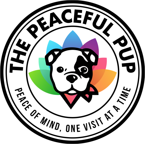The Peaceful Pup Logo