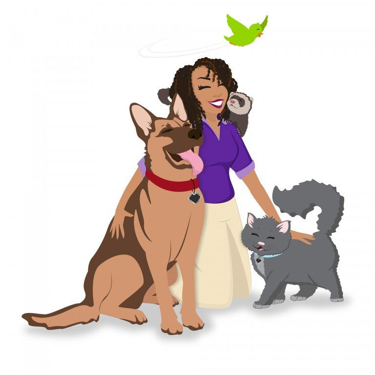 Ebony's Pet Nanny Experts, LLC Logo