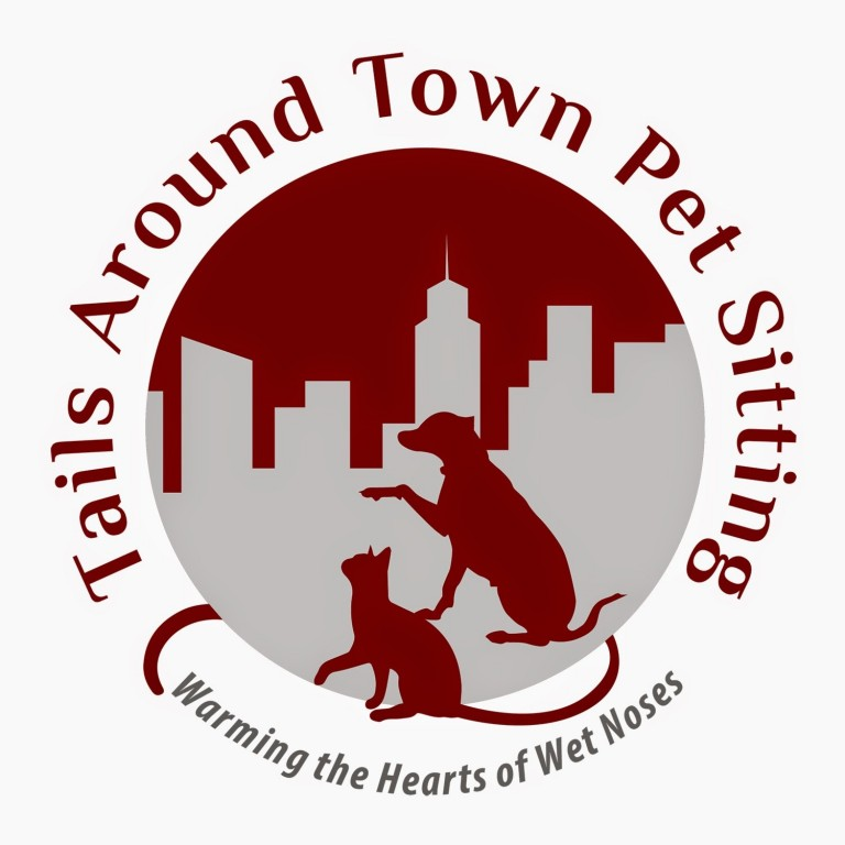 Tails Around Town Pet Sitting Logo