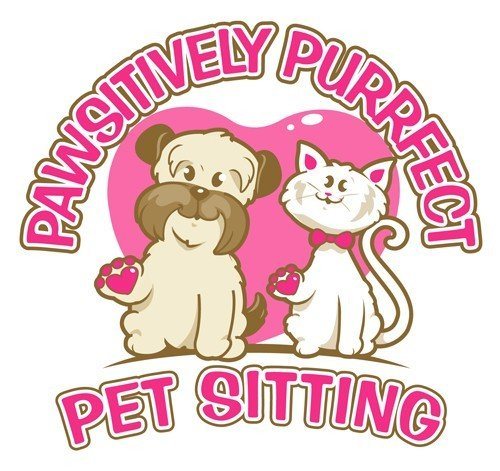Pawsitively Purrfect Pet Sitting Logo