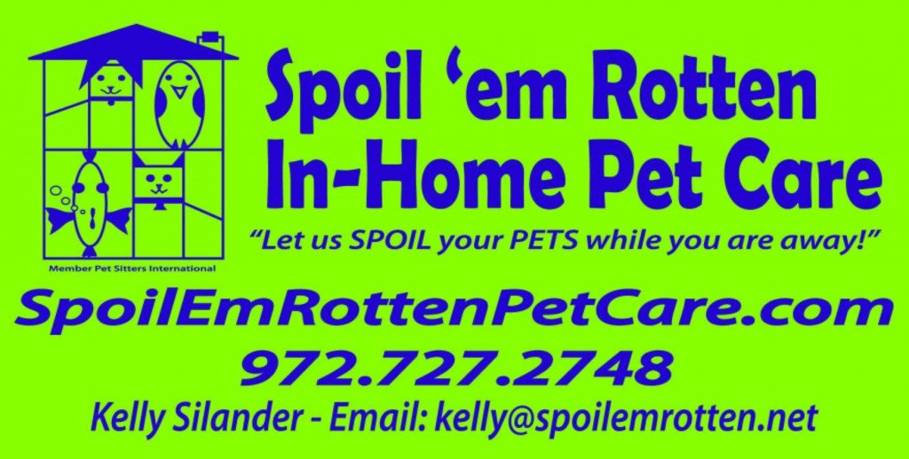 Spoil 'em Rotten In-Home Pet Care Logo