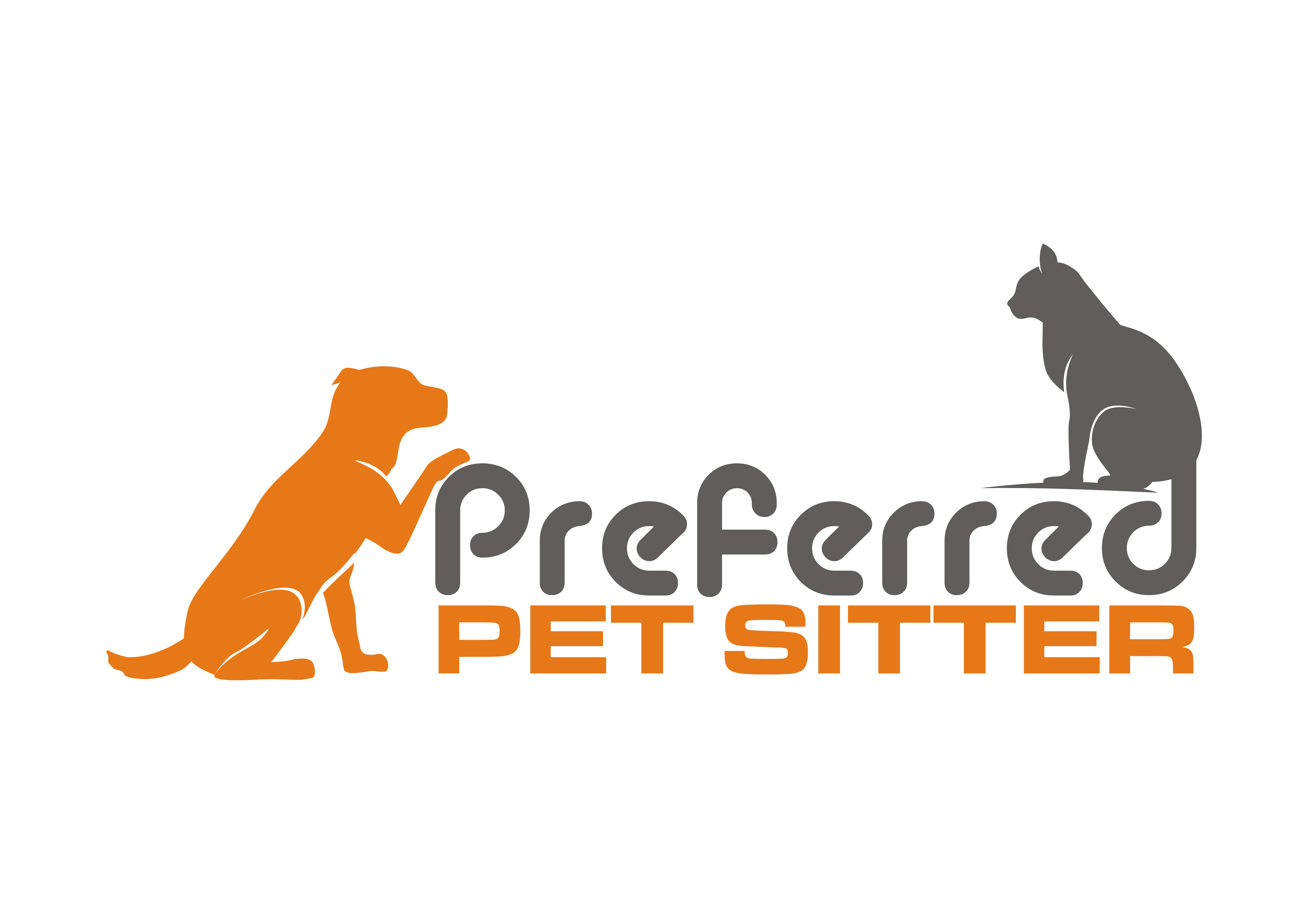 Preferred Pet Sitter Logo