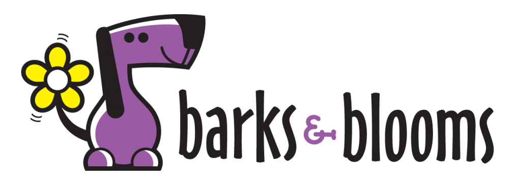 Barks and Blooms  Logo