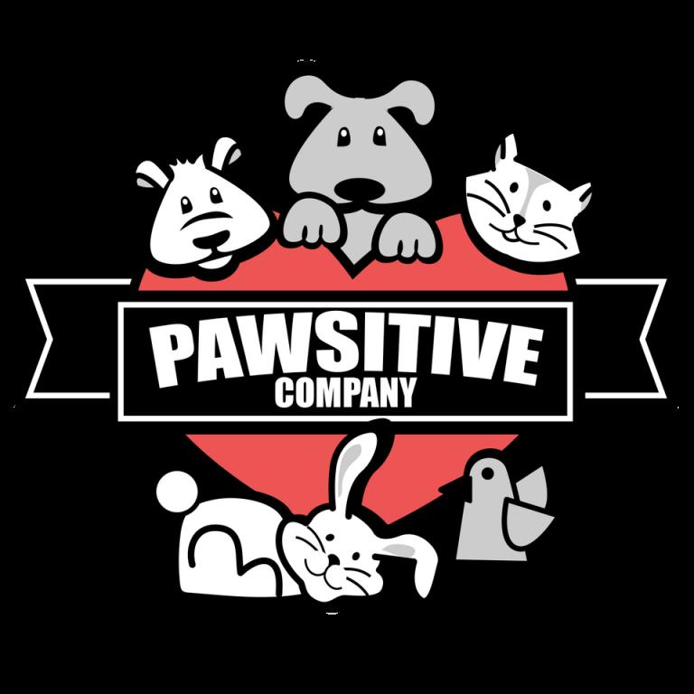 Pawsitive Company Pet Services Logo