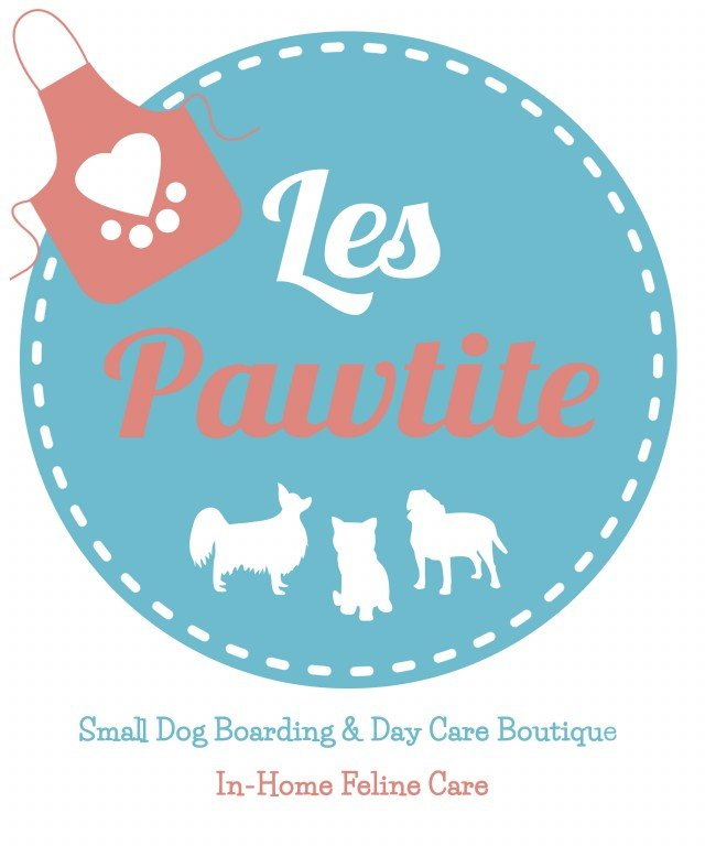 Les Pawtite - Small Dog Pet Care Services Logo
