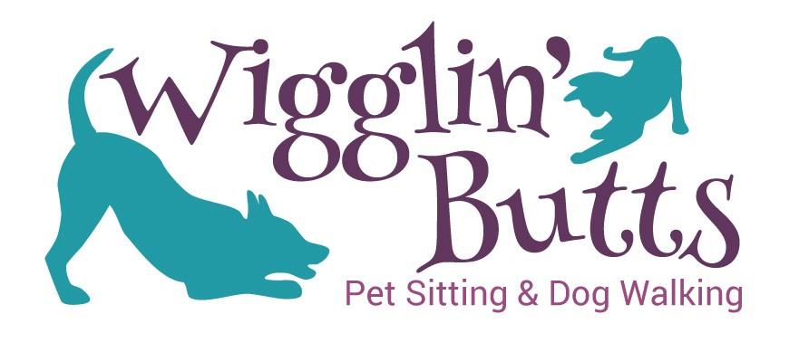 Wigglin' Butts Pet Sitting Logo