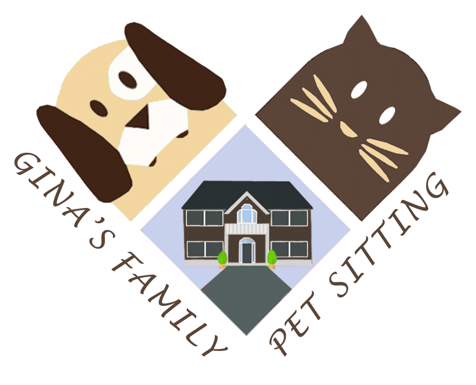 Gina's Family Pet Sitting Logo
