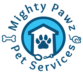 Mighty Pawz Pet Services Logo