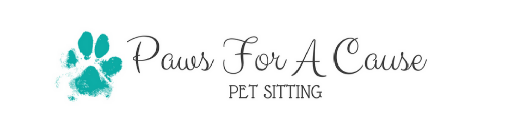 Paws For A Cause Pet Sitting, LLC Logo