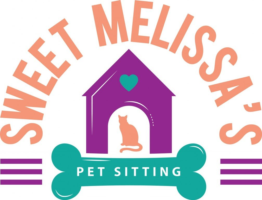 Sweet Melissa's Pet Sitting Logo