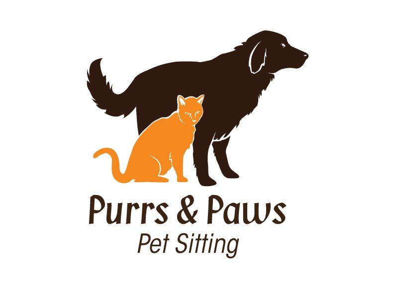 Purrs and Paws Logo