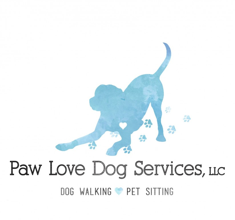 Paw Love Dog Services, LLC Logo
