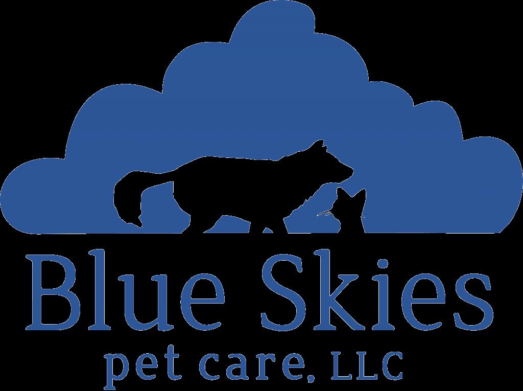 Blue Skies Pet Care, LLC Logo
