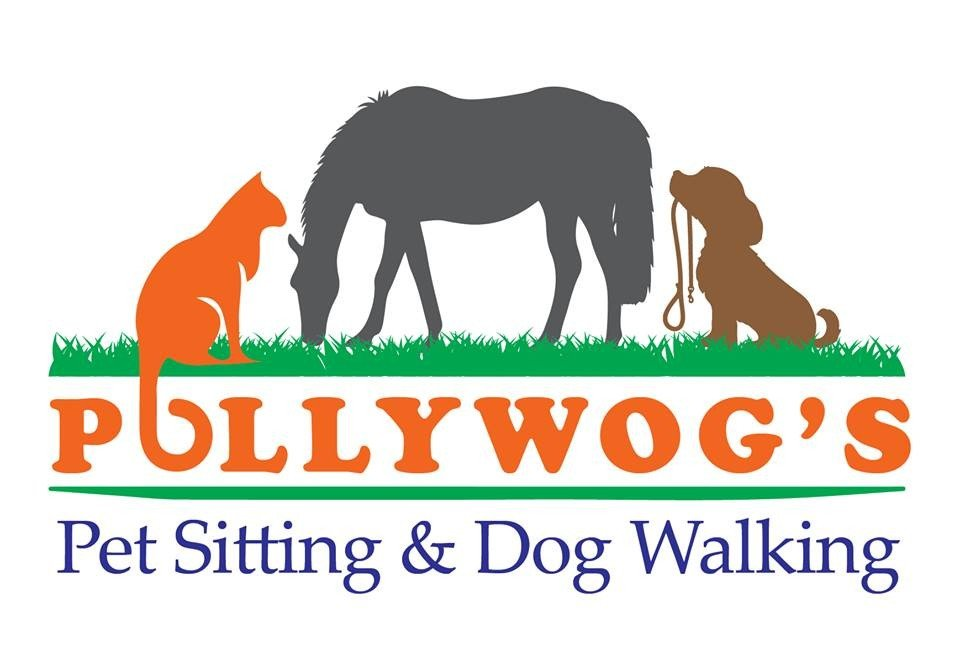 Pollywog's Pet Sitting Logo
