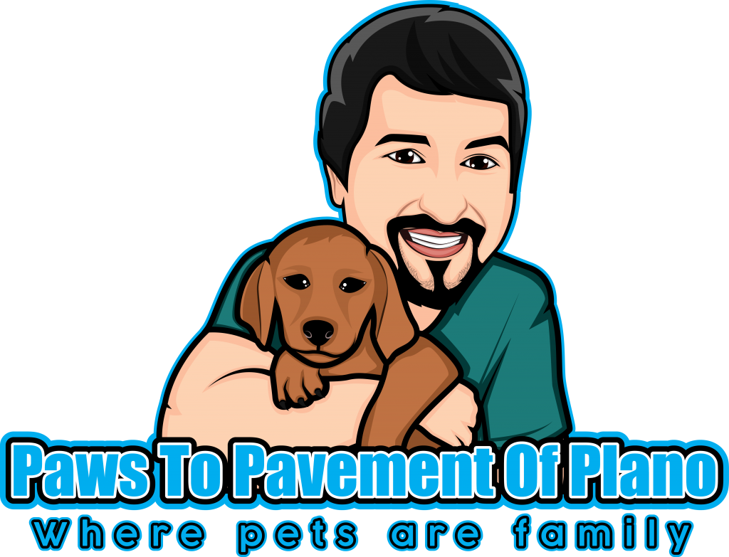 Paws To Pavement Of Plano Logo
