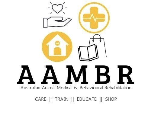 Australian Animal Medical & Behavioural Rehabilitation (AAMBR) Logo