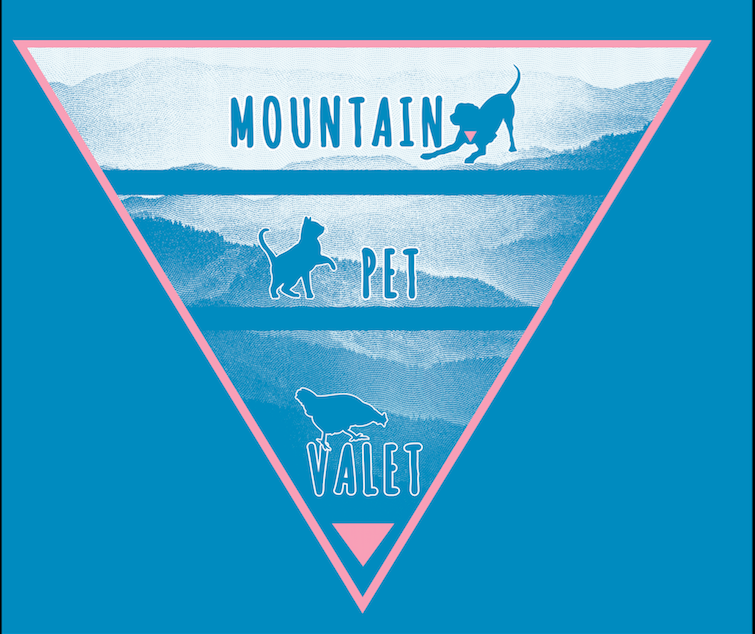 Mountain Pet Valet Logo