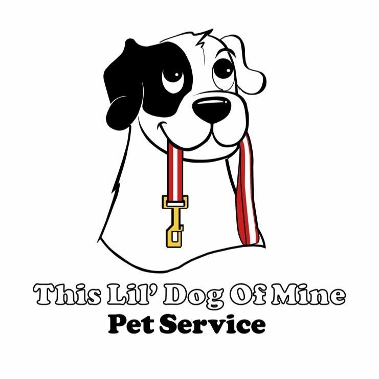 This Lil Dog of Mine Pet Services, LLC Logo