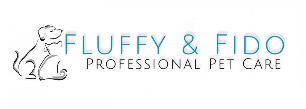 Fluffy & Fido Professional Pet Care Logo