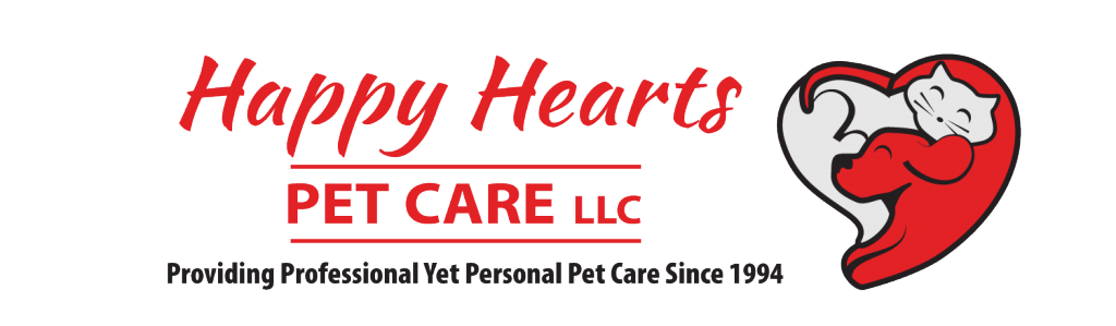 Happy Hearts Pet Care LLC Logo