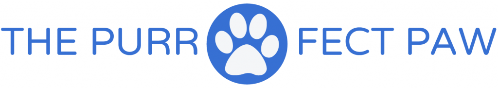 The Purr-fect Paw Logo