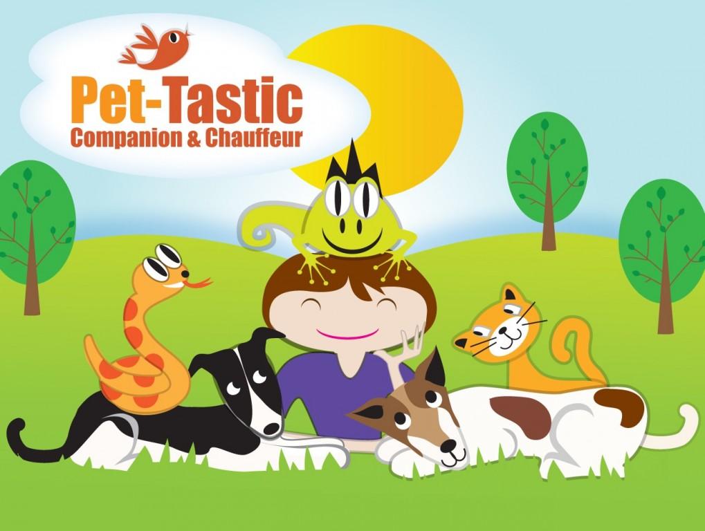Pet-Tastic Companion & Chauffeur Logo