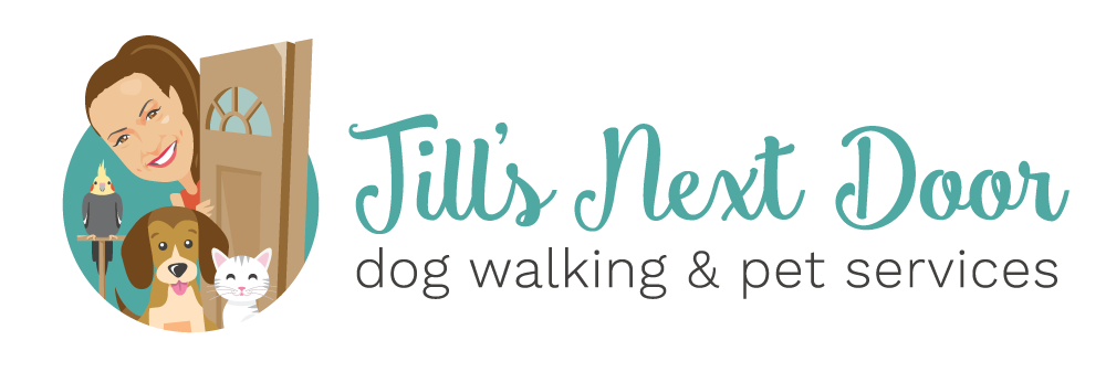 Jill's Next Door Dog Walking & Pet Services Logo