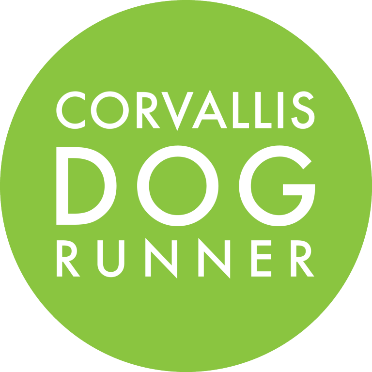 Corvallis Dog Runner Logo