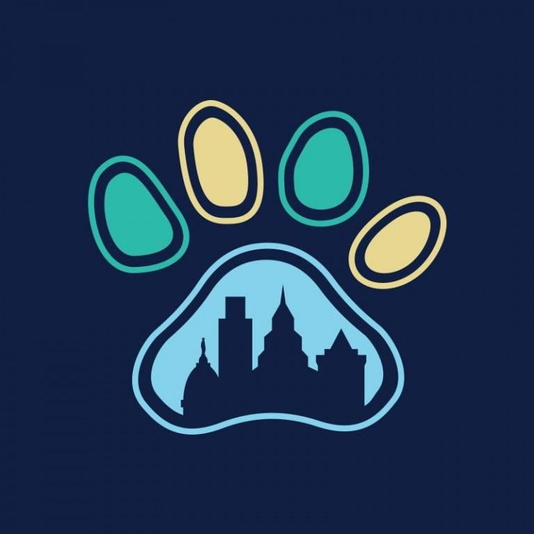 City of Paws Pet Care Logo