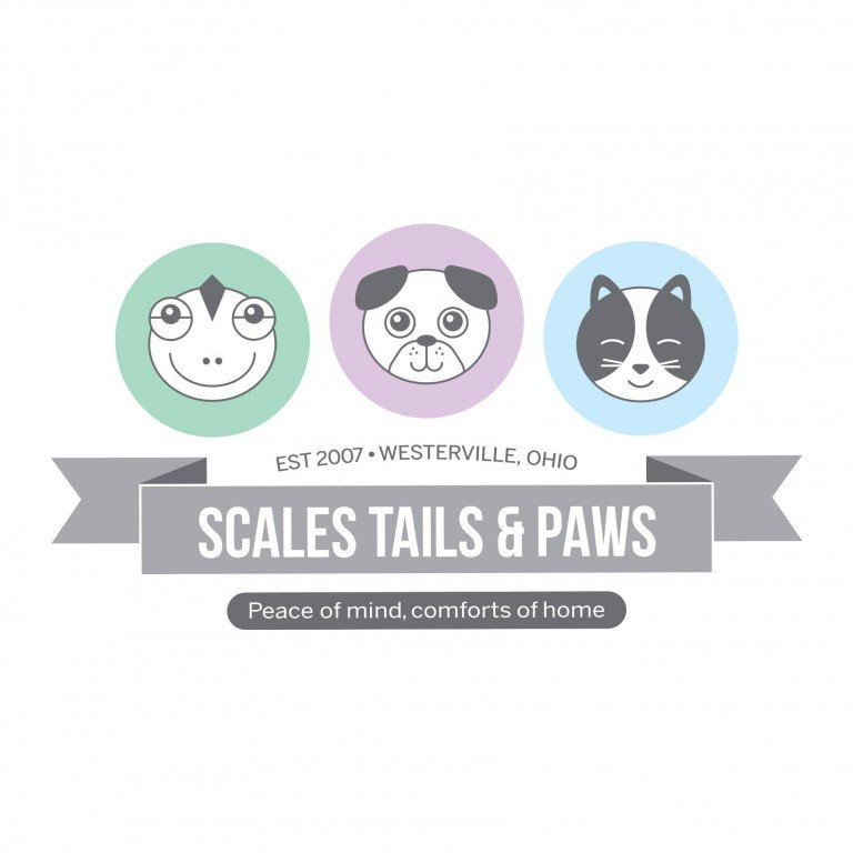 Scales Tails & Paws  Logo