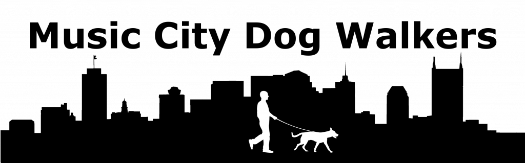 Music City Dog Walkers Logo
