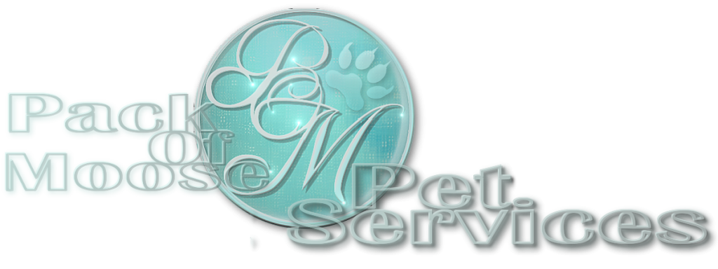 Pack of Moose Pet Services Logo