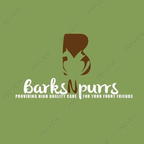 Barks N Purrs Pet Care Logo