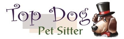 Top Dog Pet Sitter, LLC. Logo