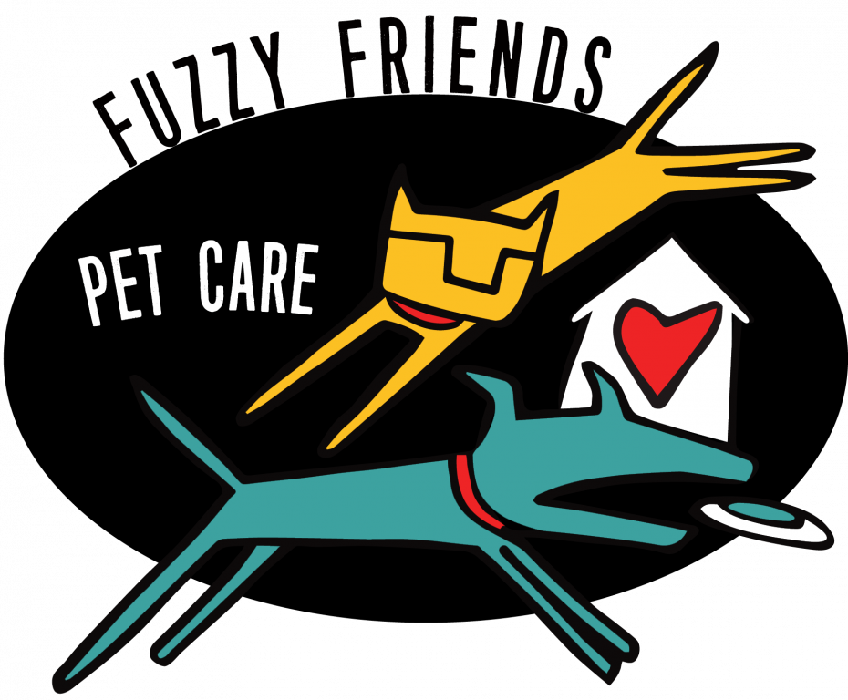 Fuzzy Friends Petsitting LLC Logo