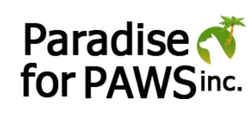 Paradise For PAWS inc Logo