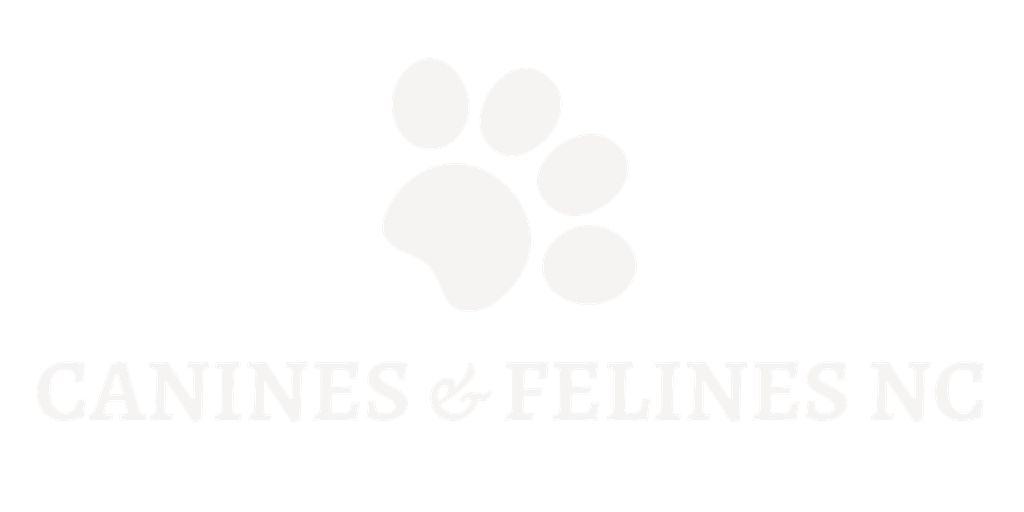 Canines + Felines North Carolina Logo